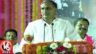 Irrigation Minister Harish Rao Speech At Mahbubnagar Public Meet