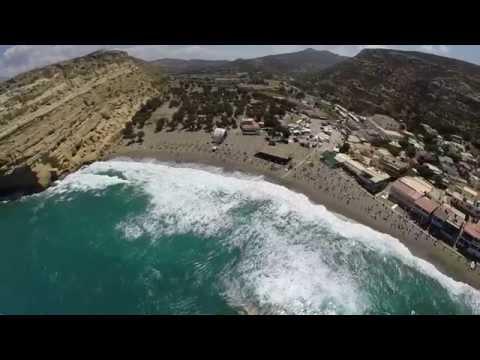 MATALA CRETE - drone video