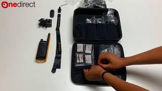 Motorola T82 Extreme walkie talkie - Quad pack unboxing