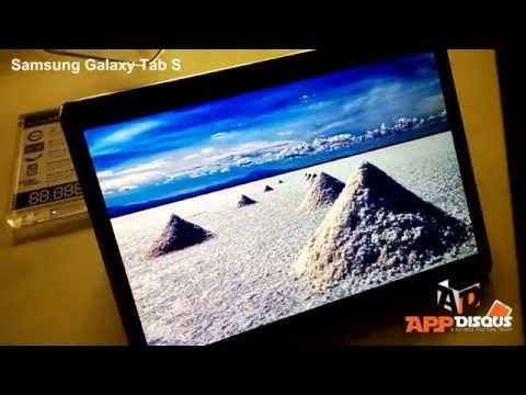 พรีวิว พาชม : Samsung Galaxy Tab S พรีวิวเครื่องสดๆ จากงานเปิดตัว