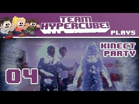 Kinect Party: Blizzards, Flowerlands, and Castles