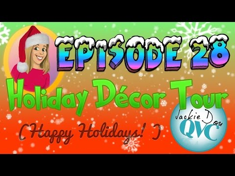 Episode 28 - Holiday Décor Tour (filmed in 1 take*!!) *almost