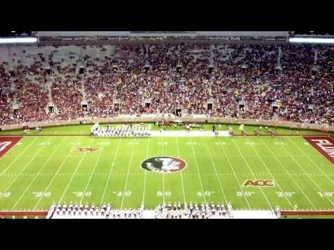 Fsu marching chiefs vs bcu: patriotic show 9/21/13