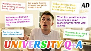 answering YOUR university questions (quickfire uni Q&A)