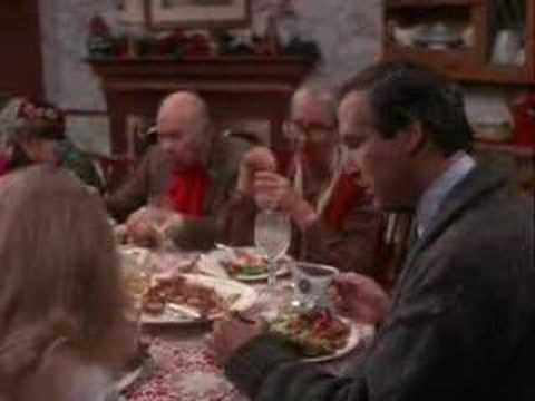 National Lampoon Christmas Vacation Dinner Scene