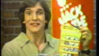 Jack in the Box Meteor Game 1979 TV commercial