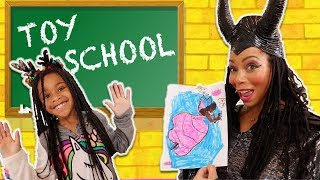 Back At Toy School! Prank Toy Teacher