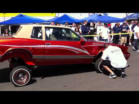 Car show hydraulics contest