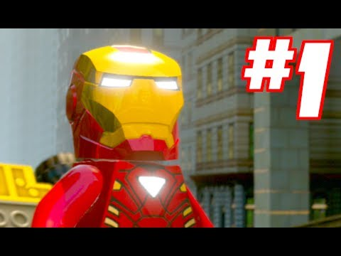 LEGO MARVEL SUPER HEROES - Gameplay Walkt