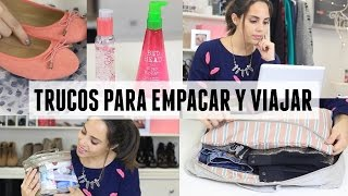 10 TIPS INCREÍBLES PARA EMPACAR + CÓMO VIAJAR BARATO | What The Chic