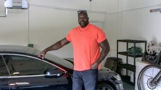 Customizing Shaq's Tesla Model S!