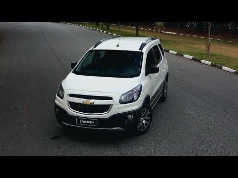 Lançamento da Chevrolet Spin Active