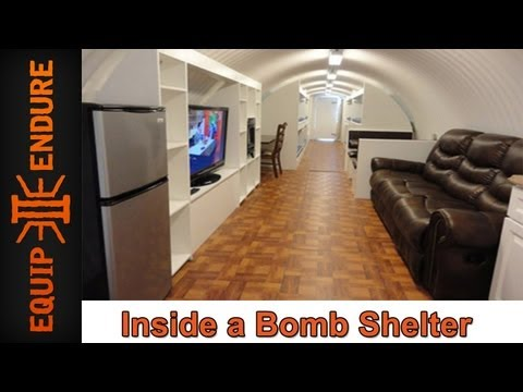 Inside a Bomb Shelter with Atlas Survival Shelters at the Self Reliance Expo