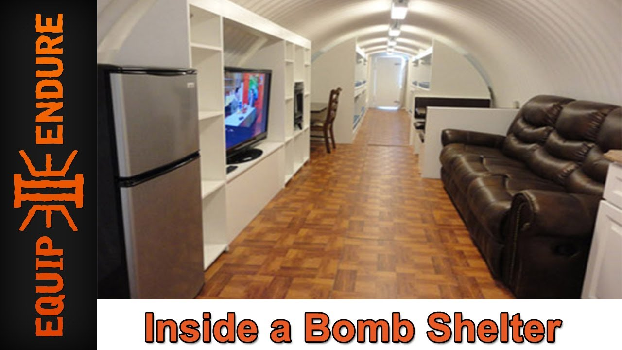 Inside A Bomb Shelter With Atlas Survival Shelters By