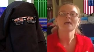 Woman wearing niqab thrown out: Muslim woman booted from Family Dollar store by manager - TomoNews