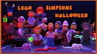 Lego Simpsons Halloween by Magic_Bricks