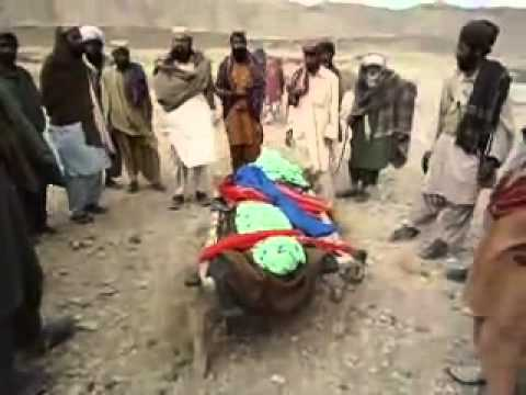 Pakistani Army gunship helicopter attacked a village,a Marri Baloch woman martyred