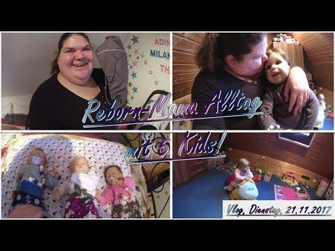 REBORN-MAMA ALLTAG mit 5 Kids! || Reborn Baby Deutsch || Little Reborn Nursery