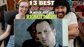 13 BEST JUMP SCARES In Movie History - REACTION!!!