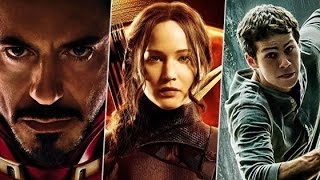 Os Vingadores 2, The Maze Runner, Jogos Vorazes, Assassins