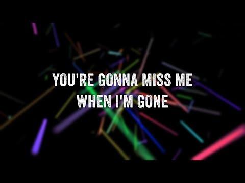 Simple Plan - When I'm Gone (Lyric Video)