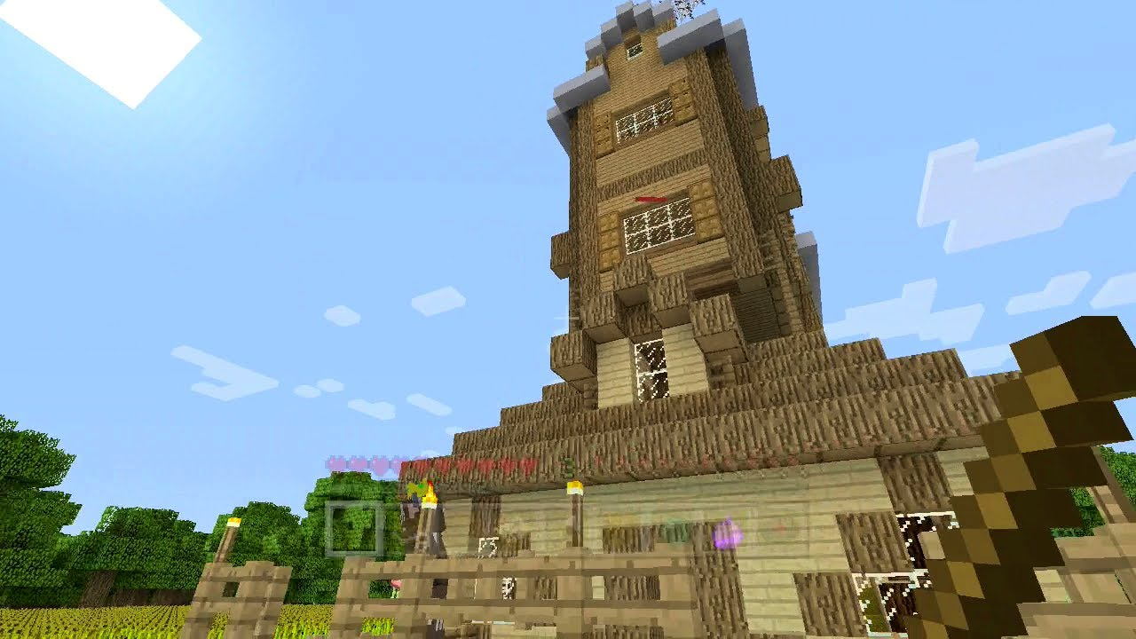 The Burrow Harry Potter Minecraft Minecraft Xbox Harry Potter