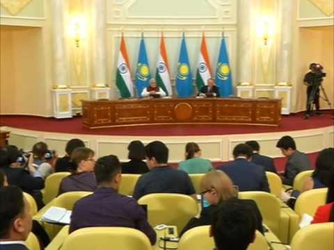 India and Kazakhstan sign agreements in nuclear, defence cooperation
