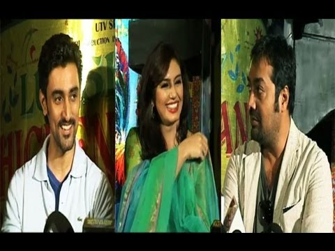 Anurag Kashyap,Huma Qureshi And Kunal Kapoor PROMOTE 'Luv Shuv Tey Chicken Khurana'
