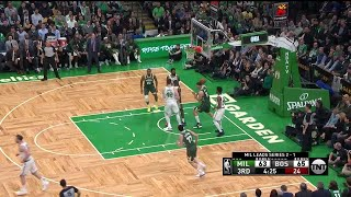 3rd Quarter, One Box Video: Boston Celtics vs. Milwaukee Bucks