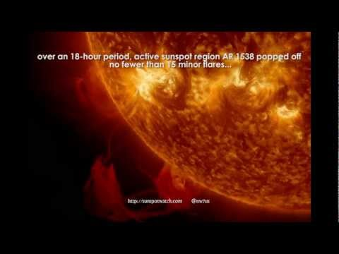 Rapid Fire Flares July 2012 (SDO EUV)