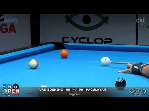 2017 US Open 8-Ball: Van Boening vs Pagulayan