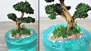 How to make a Dragon Island | Aquascape | diorama