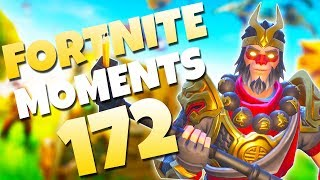 THE BEST JETPACK TRICKSHOT YOU'LL EVER SEE! (MID-AIR CATCH) | Fortnite Daily & Funny Moments Ep. 172