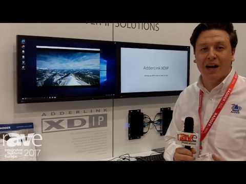 ISE 2017: Adder Technology Displays AdderLink XDIP Digital Video Extender