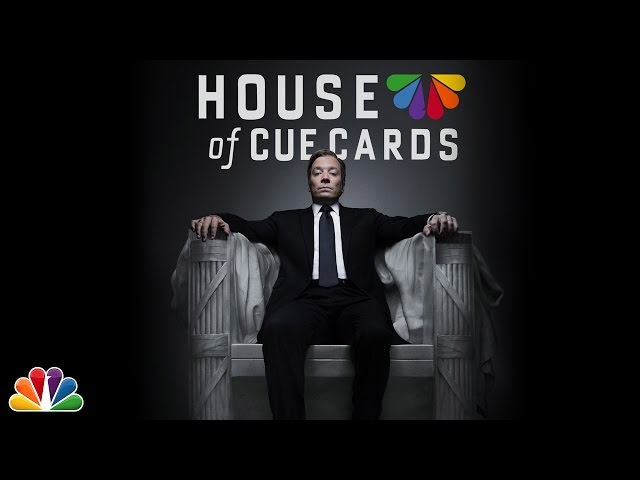 House of Cue Cards Part 1 of 2 - The Tonight Show Starring Jimmy Fallon
