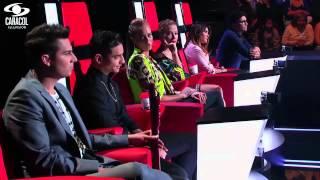 Valeria, Jairo y Fredy cantaron 'Fuiste tú' de Ricardo Arjona – LVK Colombia – Batallas – T1
