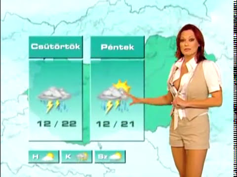 very sexy weather news from hungary