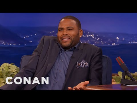 Anthony Anderson's Mom Uses Vagisil For Everything  - CONAN on TBS