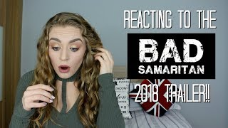Official 'Bad Samaritan' 2018 Trailer Reaction (ft. David Tennant & Robert Sheehan) | Kirstie Bryce
