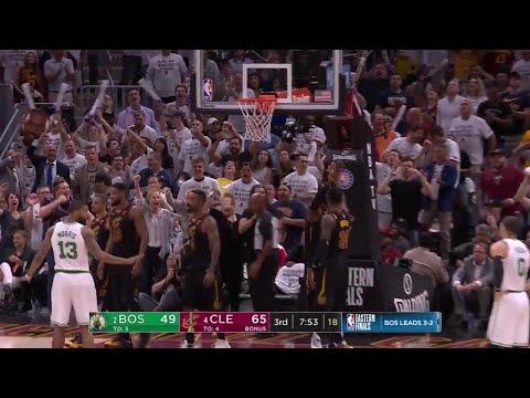 3rd Quarter, One Box Video: Cleveland Cavaliers vs. Boston Celtics