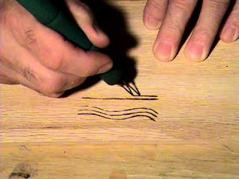 woodburning designs and tips, PART 8 - YouTube