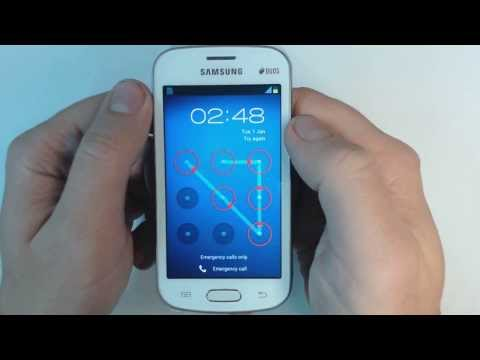 Samsung Galaxy Trend Lite Duos S7392 - How to remove pattern lock by hard reset