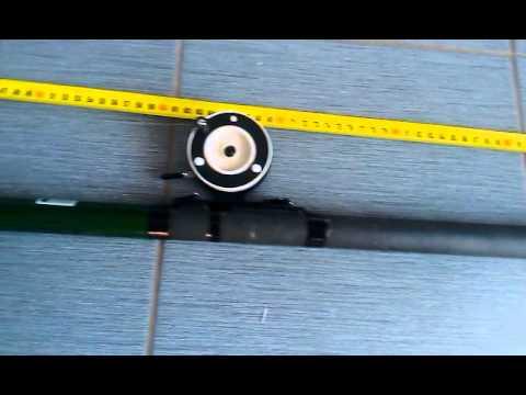 удочка телескопическая катунь