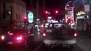 Downtown Reno, Nevada At Night