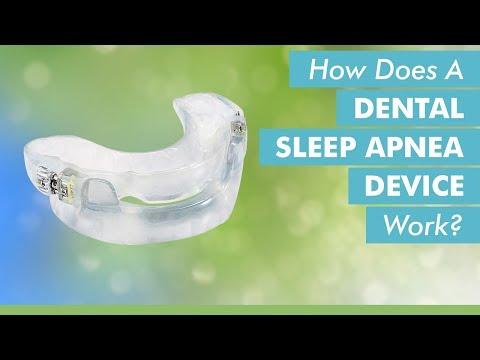 How Does A Dental Sleep Apnea Device Work?
