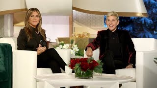 Jennifer Aniston and Ellen Give the Gift of International Travel