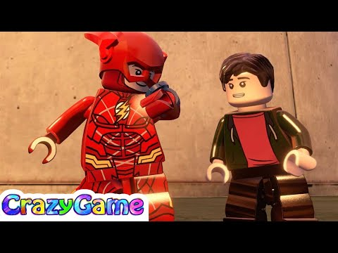 LEGO MARVEL's Avengers - Barry Allen and Flash (Justice League) Gameplay