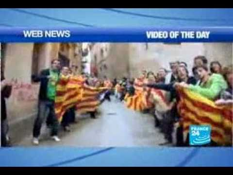 France24 - World's largest lip dub to take place in Catalonia for independence.