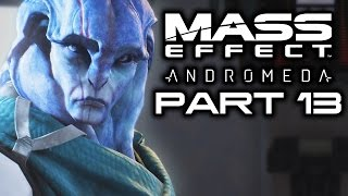MASS EFFECT ANDROMEDA: Jaal and PeeBee Loyalty Missions & Aya Diplomacy! (Let's Play Stream Part 13)