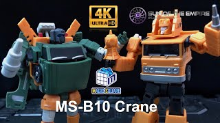Magic square MS-TOYS MS-B10 Crane / Legends Class Hoist Q.Review 123